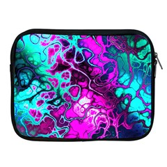 Awesome Fractal 35b Apple Ipad 2/3/4 Zipper Cases by MoreColorsinLife