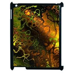 Awesome Fractal 35e Apple Ipad 2 Case (black) by MoreColorsinLife