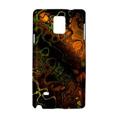 Awesome Fractal 35e Samsung Galaxy Note 4 Hardshell Case by MoreColorsinLife