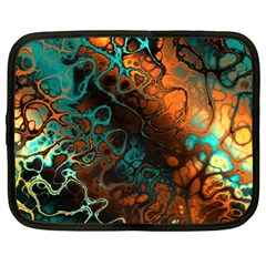 Awesome Fractal 35f Netbook Case (xl)  by MoreColorsinLife