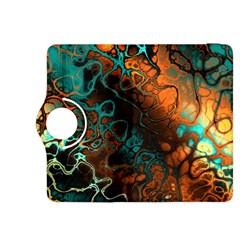Awesome Fractal 35f Kindle Fire Hdx 8 9  Flip 360 Case by MoreColorsinLife