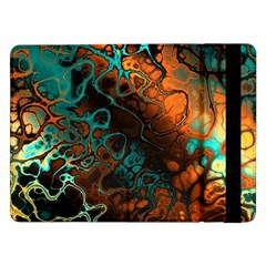 Awesome Fractal 35f Samsung Galaxy Tab Pro 12 2  Flip Case by MoreColorsinLife