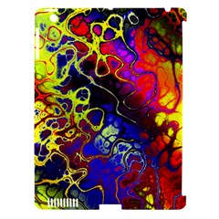 Awesome Fractal 35c Apple Ipad 3/4 Hardshell Case (compatible With Smart Cover) by MoreColorsinLife