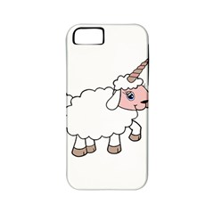 Unicorn Sheep Apple Iphone 5 Classic Hardshell Case (pc+silicone) by Valentinaart