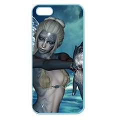 The Wonderful Water Fairy With Water Wings Apple Seamless Iphone 5 Case (color) by FantasyWorld7