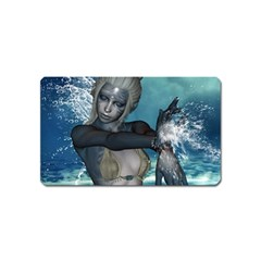 The Wonderful Water Fairy With Water Wings Magnet (name Card) by FantasyWorld7