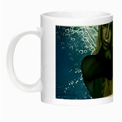 The Wonderful Water Fairy With Water Wings Night Luminous Mugs by FantasyWorld7