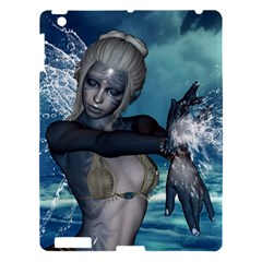 The Wonderful Water Fairy With Water Wings Apple Ipad 3/4 Hardshell Case by FantasyWorld7