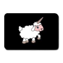 Unicorn Sheep Plate Mats by Valentinaart