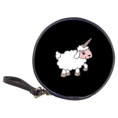 Unicorn Sheep Classic 20 Cd Wallets by Valentinaart
