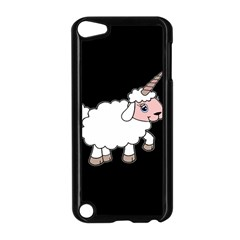 Unicorn Sheep Apple Ipod Touch 5 Case (black) by Valentinaart