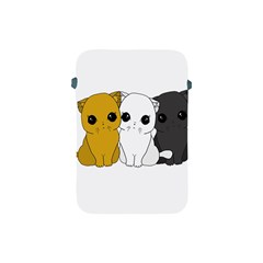 Cute Cats Apple Ipad Mini Protective Soft Cases by Valentinaart