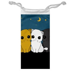 Cute Cats Jewelry Bag by Valentinaart
