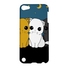 Cute Cats Apple Ipod Touch 5 Hardshell Case by Valentinaart
