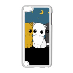 Cute Cats Apple Ipod Touch 5 Case (white) by Valentinaart