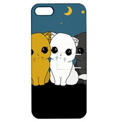 Cute Cats Apple Iphone 5 Hardshell Case With Stand by Valentinaart