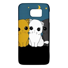 Cute Cats Galaxy S6 by Valentinaart