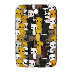 Cute Cats Pattern Samsung Galaxy Note 8 0 N5100 Hardshell Case  by Valentinaart