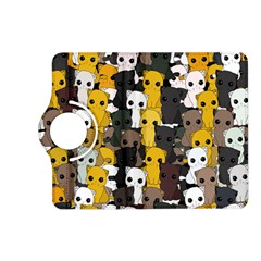 Cute Cats Pattern Kindle Fire Hd (2013) Flip 360 Case by Valentinaart