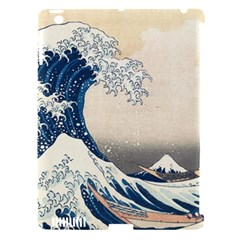 The Classic Japanese Great Wave Off Kanagawa By Hokusai Apple Ipad 3/4 Hardshell Case (compatible With Smart Cover) by PodArtist