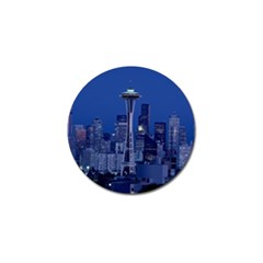 Space Needle Seattle Washington Golf Ball Marker