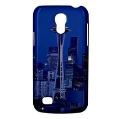 Space Needle Seattle Washington Galaxy S4 Mini by Nexatart