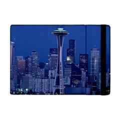 Space Needle Seattle Washington Ipad Mini 2 Flip Cases by Nexatart