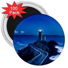 Plouzane France Lighthouse Landmark 3  Magnets (100 Pack) by Nexatart