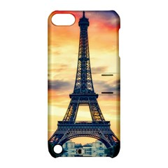 Eiffel Tower Paris France Landmark Apple Ipod Touch 5 Hardshell Case With Stand by Nexatart