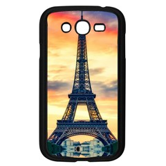 Eiffel Tower Paris France Landmark Samsung Galaxy Grand Duos I9082 Case (black) by Nexatart