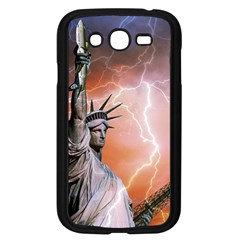 Statue Of Liberty New York Samsung Galaxy Grand Duos I9082 Case (black) by Nexatart