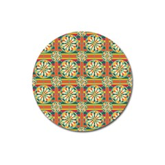 Eye Catching Pattern Magnet 3  (round) by linceazul