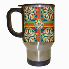 Eye Catching Pattern Travel Mugs (white) by linceazul