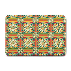 Eye Catching Pattern Small Doormat  by linceazul
