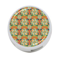 Eye Catching Pattern 4 Port Usb Hub (one Side) by linceazul