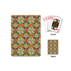 Eye Catching Pattern Playing Cards (mini)  by linceazul