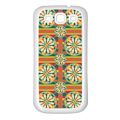 Eye Catching Pattern Samsung Galaxy S3 Back Case (white) by linceazul