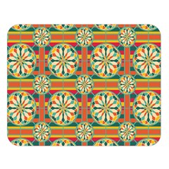 Eye Catching Pattern Double Sided Flano Blanket (large)  by linceazul