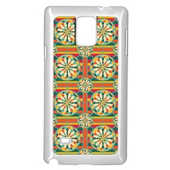 Eye Catching Pattern Samsung Galaxy Note 4 Case (white) by linceazul