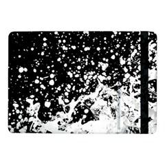 Black And White Splash Texture Samsung Galaxy Tab Pro 10 1  Flip Case by dflcprints