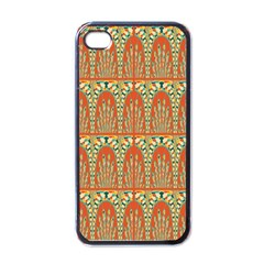 Arcs Pattern Apple Iphone 4 Case (black) by linceazul