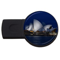 Landmark Sydney Opera House Usb Flash Drive Round (2 Gb) by Nexatart