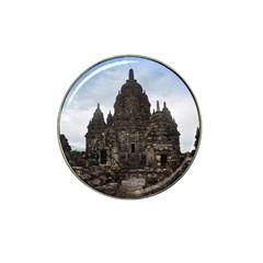 Prambanan Temple Indonesia Jogjakarta Hat Clip Ball Marker (4 Pack) by Nexatart