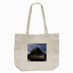 Mont Saint Michel France Normandy Tote Bag (cream) by Nexatart