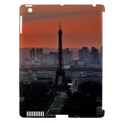 Paris France French Eiffel Tower Apple Ipad 3/4 Hardshell Case (compatible With Smart Cover) by Nexatart