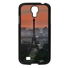 Paris France French Eiffel Tower Samsung Galaxy S4 I9500/ I9505 Case (black) by Nexatart