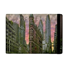 Flat Iron Building Toronto Ontario Ipad Mini 2 Flip Cases by Nexatart