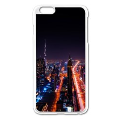 Dubai Cityscape Emirates Travel Apple Iphone 6 Plus/6s Plus Enamel White Case by Nexatart