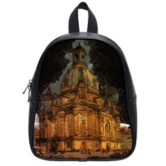 Dresden Frauenkirche Church Saxony School Bag (small) by Nexatart