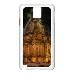 Dresden Frauenkirche Church Saxony Samsung Galaxy Note 3 N9005 Case (white)